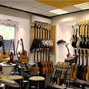 Музыкальные магазины Хохольского